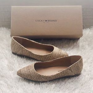 ✨New LUCKY BRAND Bylando Leather Ballet Flats